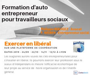 Formation d'auto entrepreneur pour travailleurs sociaux